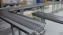 Stahlkettenband SB120 mit Seitenwanne