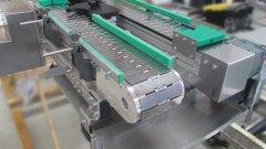 Stahlkettenband SB120 mit verstellbaren Seitenführungen