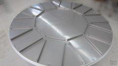 Drehtisch Durchmesser 2000 mm mit Positionstaktung